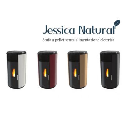Poêle à granulés sans électricité JESSICA Bordeaux
