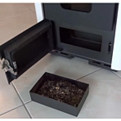 Poêle à granulés sans électricité en Pierre Ollaire : TIGNES