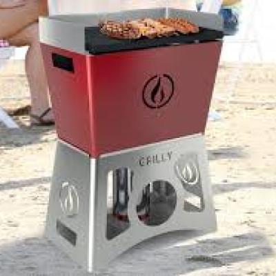 Barbecue plancha à granulés sans électricité GRILLY Bordeaux
