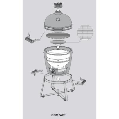 Barbecue céramique The Bastard Compact