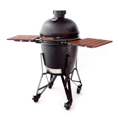 Pack Barbecue The Bastard Large + Grille en fonte + Plaque et pelle à pizza : le rehausseur + housse OFFERTS