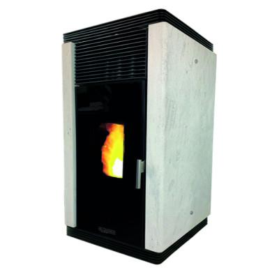 Poêle à granulés sans électricité en Pierre de Champagne : LANGRES